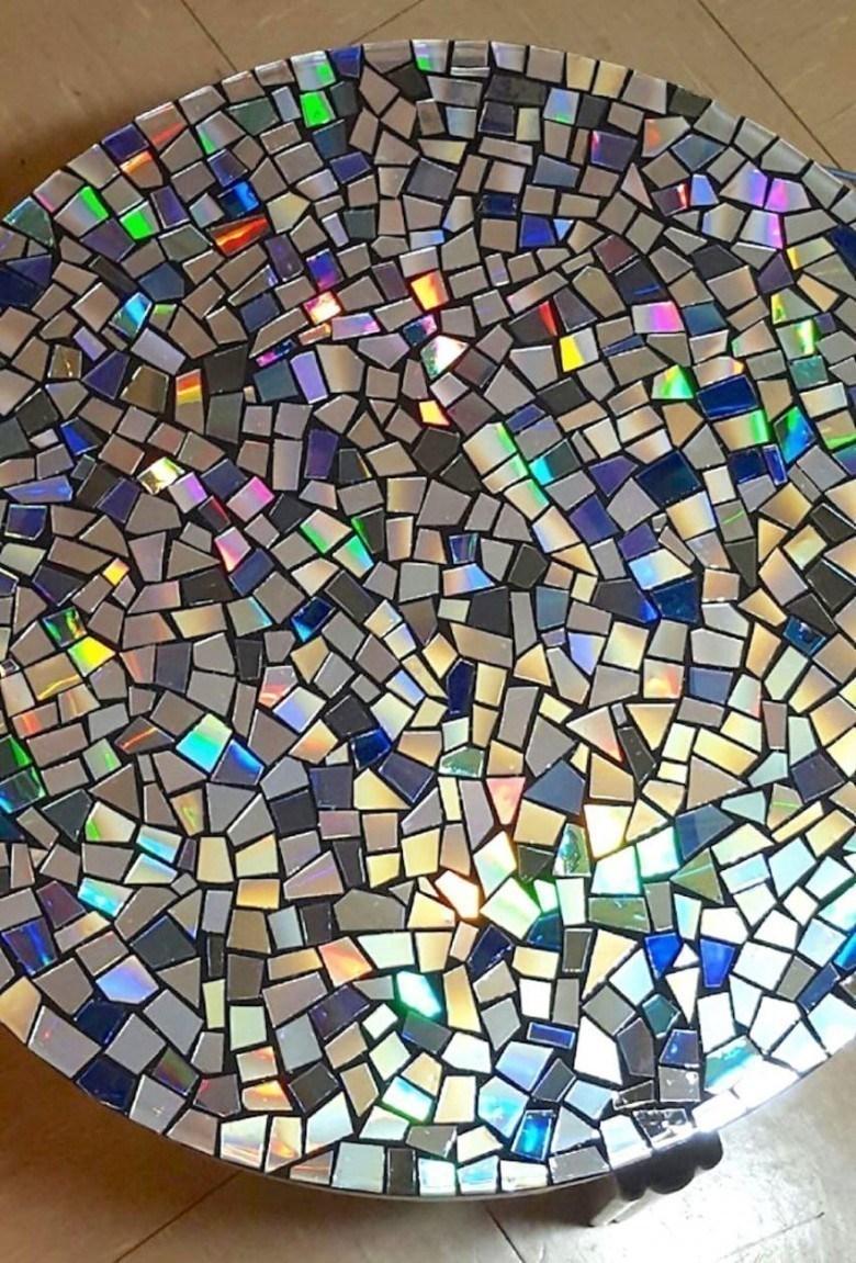 Mosaico Come Si Realizza 5 idee - come riutilizzare i vecchi cd in modo geniale   ilforum
